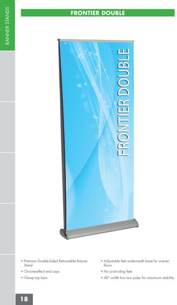 Frontier-Double Banner